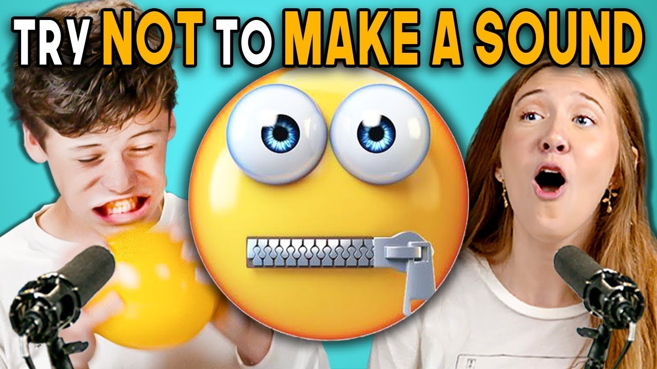 Teens React To Try Not To Make A Sound Challenge