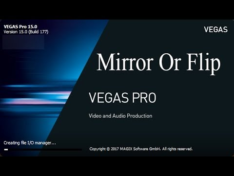 cara flip video di sony vegas
