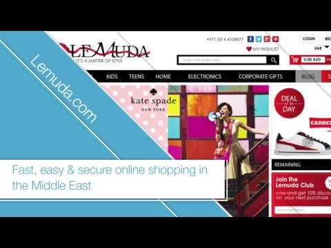 Middle East Luxury Fashion Online Store. Lemuda.