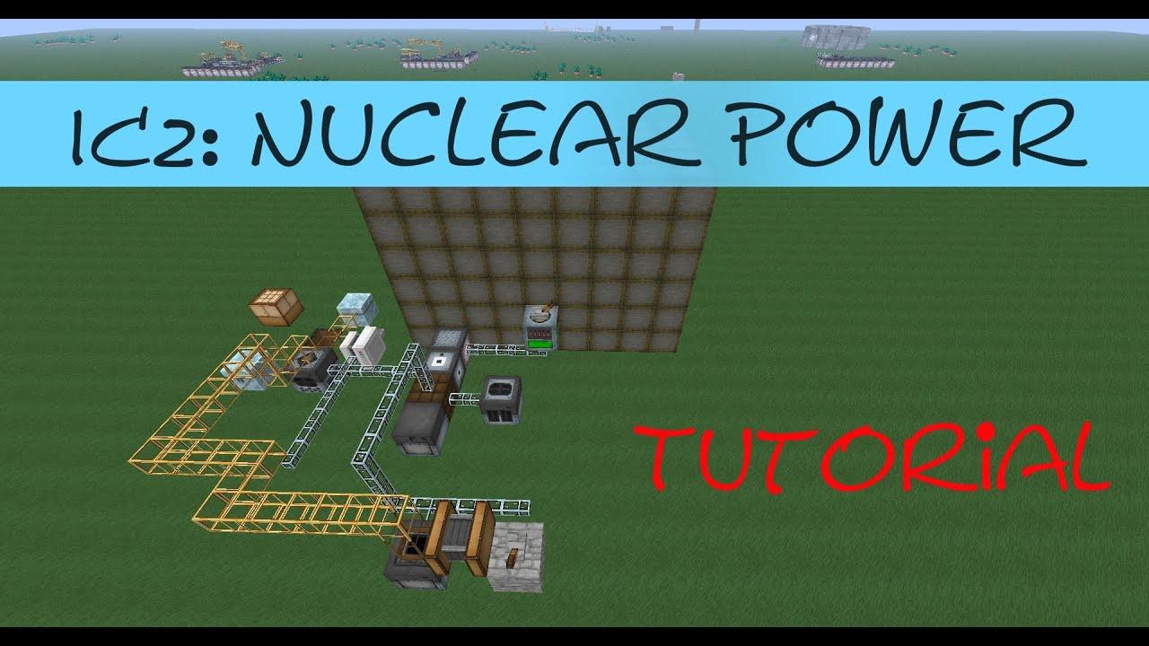 Minecraft Tutorial: Einfache Atomkraft mit einem Nuclear Reactor [IC2]  [Deutsch] by Brighter Santitan