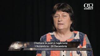 Chemare la post și rugăciune pentru România  1 noiembrie - 20 decembrie 2020