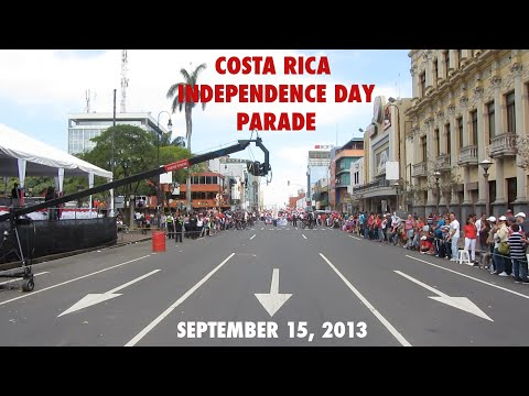 Costa Rica Independence Day Parade - September 15th, 2013