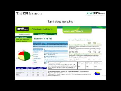 KPI Documentation: understanding KPI names, calculating formulas and establishing targets