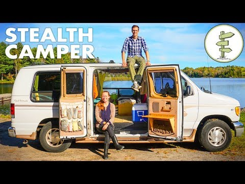 Van Life Tour - Solar Powered Off-Grid Camper Van on a Budget