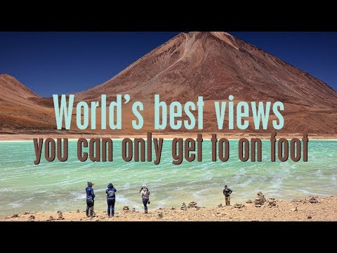 World's BEST Views You Can ONLY See on Foot!