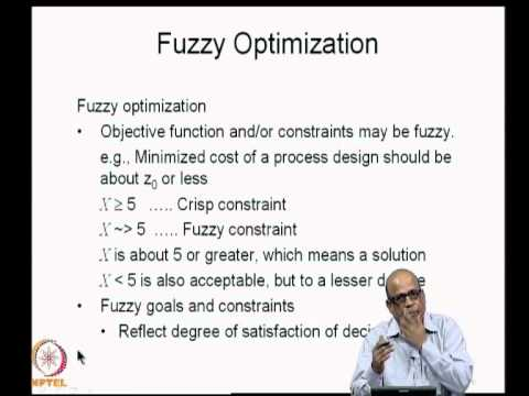 Mod-07 Lec-34 Fuzzy optimization (1)