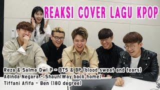 Gambar cover REAKSI MAHASISWA KOREA MENDENGARKAN COVER LAGU KPOP (BTS&Black Pink, Shaun, Ben)