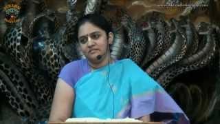 Kuntidevi Stuti 02 (Telugu) by HG Nitai Sevini Mataji at ISKCON VIZAG