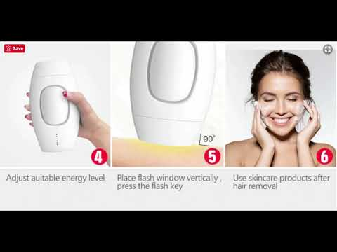 How To Use An IPL Laser For Hair Removal Treatment (KETCHBEAUTY IPL User Guide)