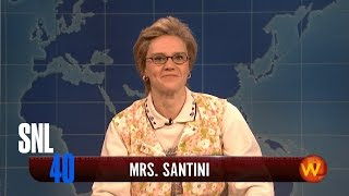 Weekend Update: Mrs. Sartini - SNL