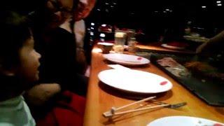 Ethan at Tokyo Japanese Steakhouse (Jan2016)