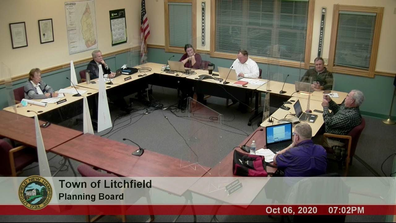 SaveHudsonNH Presents At Litchfield Planning Board Meeting