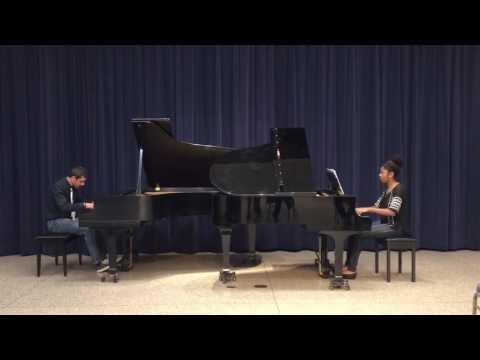 Gurlitt Rondo in D for two pianos