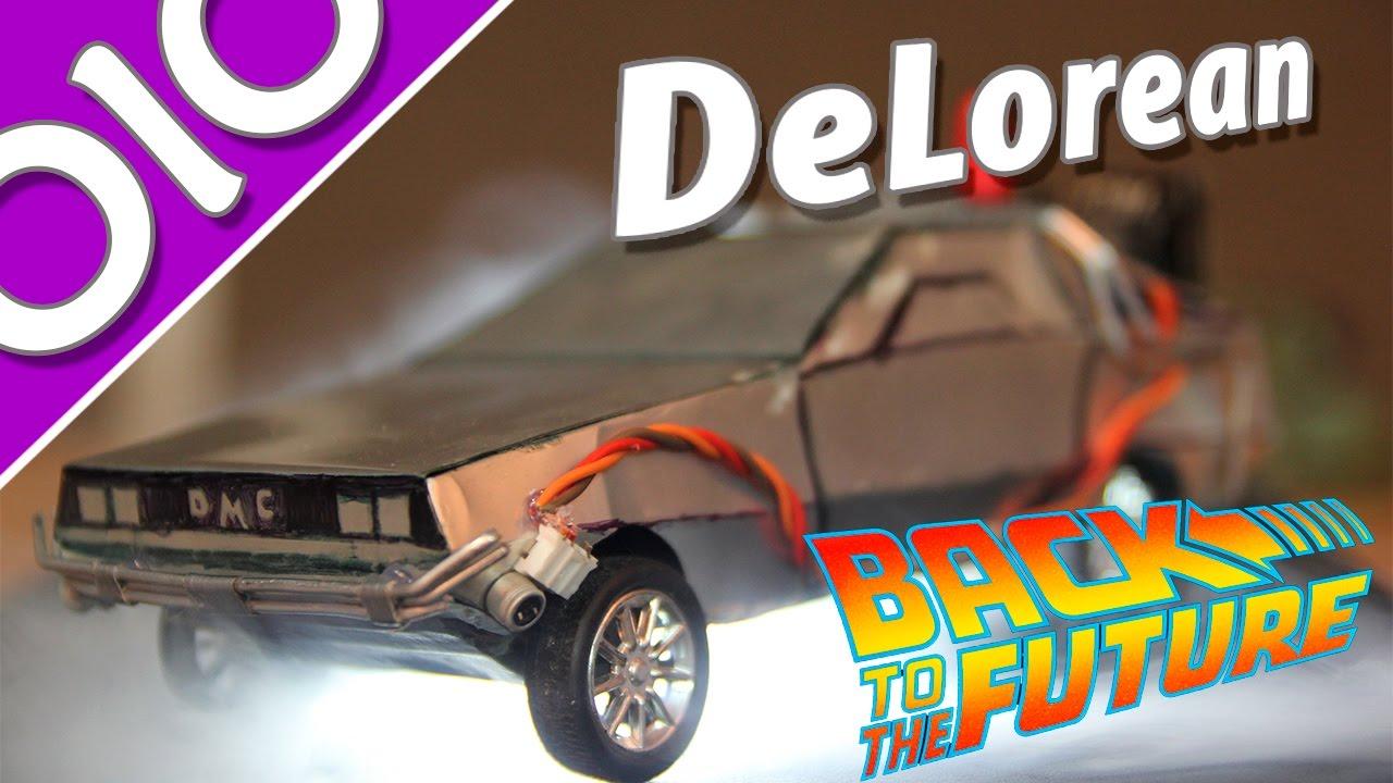 Машина времени ДеЛориан   Back To The Future - DeLorean Time .