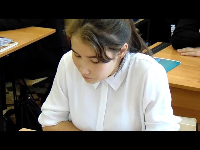 Изображение предпросмотра прочтения – «11а класс СОШ № 15 г. Нерюнгри РС (Я)» читает отрывок изпроизведения «Записки охотника. отрывок» И.С.Тургенева