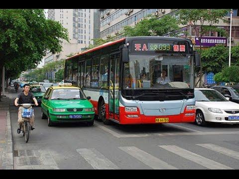Транспорт в Гуанчжоу, Китай. Метро, автобус, такси, экспресс.