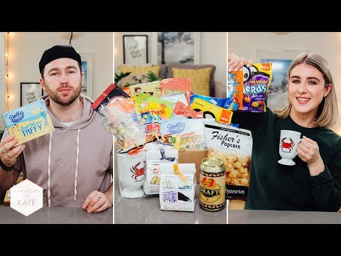 Trying Snacks from a Maryland Subscriber USA - In The Kitchen With Kate