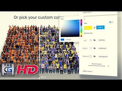 "CGI & VFX Tech Demos: ""Postoffice Crowd & Stadium Tool"" - by Boyo Frederix   TheCGBros"