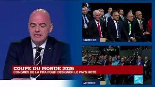Coupe du monde 2026 : la FIFA annonce les trois États sélectionnés