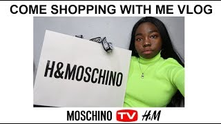 H&M X MOSCHINO PRE-SHOPPING EVENT   COME SHOPPING WITH ME VLOG