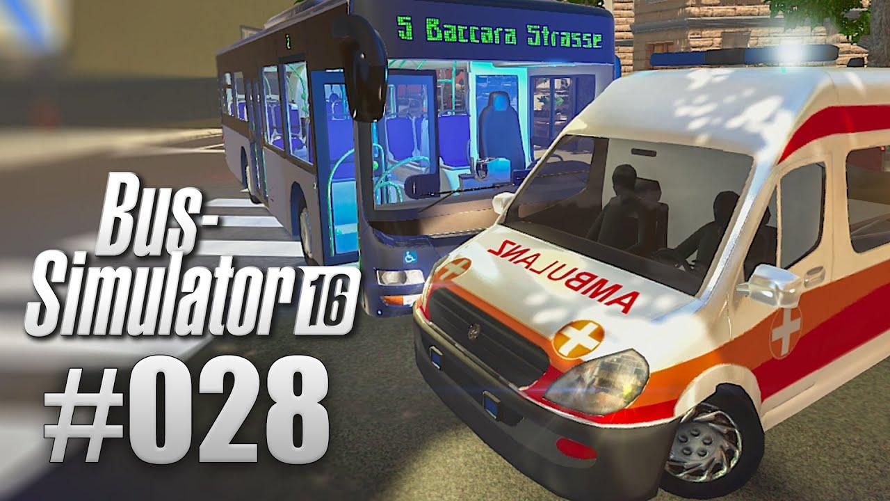 BUS-SIMULATOR 16 #28 - Unfall: UMGEKIPPT! | Let\'s Play Bus Simulator ...