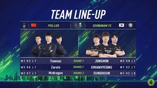 Seongnam FC vs PSG.LGD - Tứ Kết Dual - Trận 2 Nhánh Thắng [EACC Spring 2019]