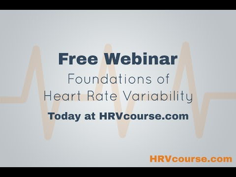 HRV Foundations Course Launch Webinar