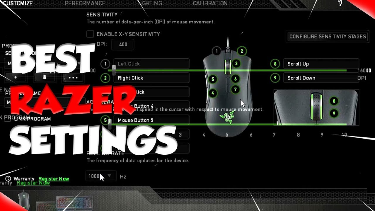 The Best Settings for Razer Synapse