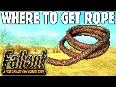 Where To Find Rope Guide Fallout 1