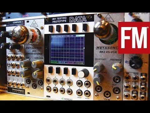 Modular Monthly: Tube-powered Eurorack with Metasonix RK-2 VCA & RK-3 Ringer/Shaper