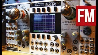 Modular Monthly: Tube-powered Eurorack with Metasonix RK-2 VCA & RK-3 Ringer/Shaper