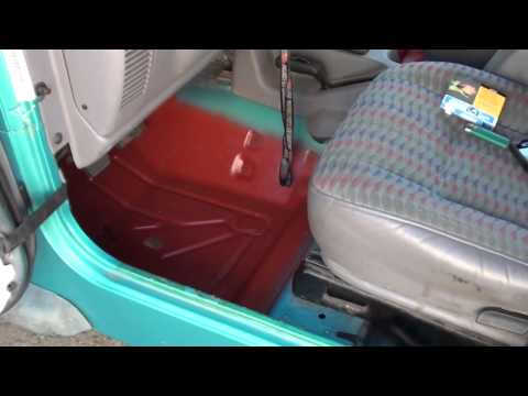 1997 jeep TJ floor pan rust removal and more