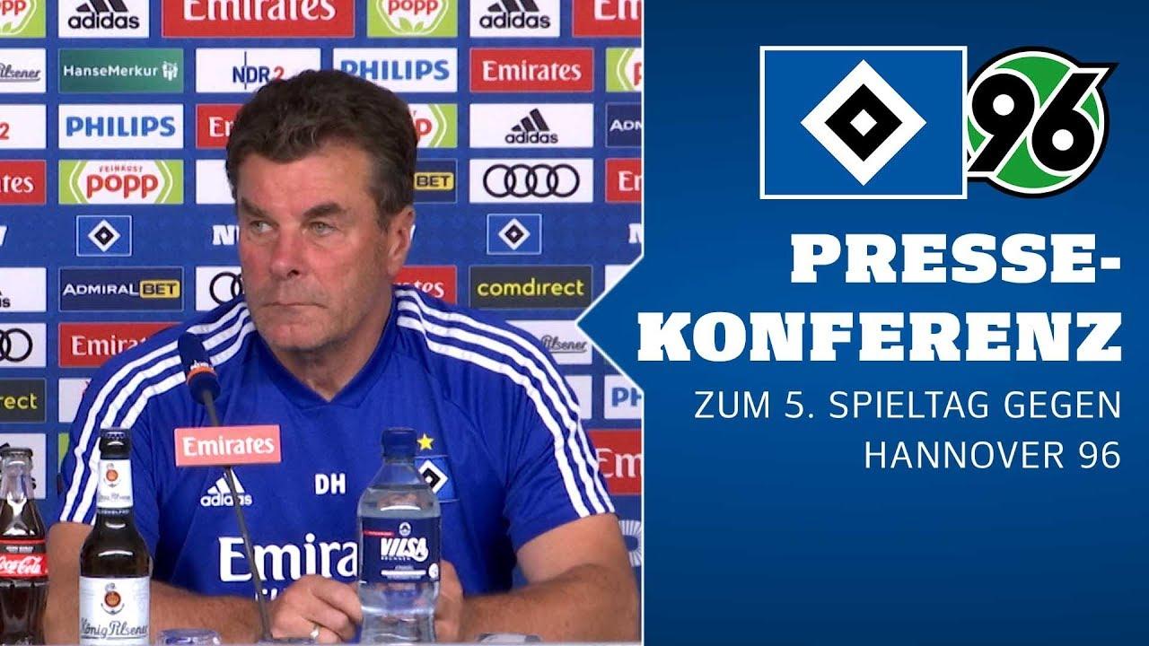 RELIVE: Die PK vor dem 5. Spieltag gegen Hannover 96