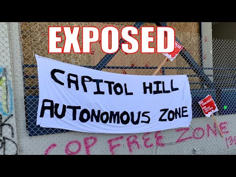 What is it actually like Inside the Seattle Autonomous Zone CHAZ / CHOP