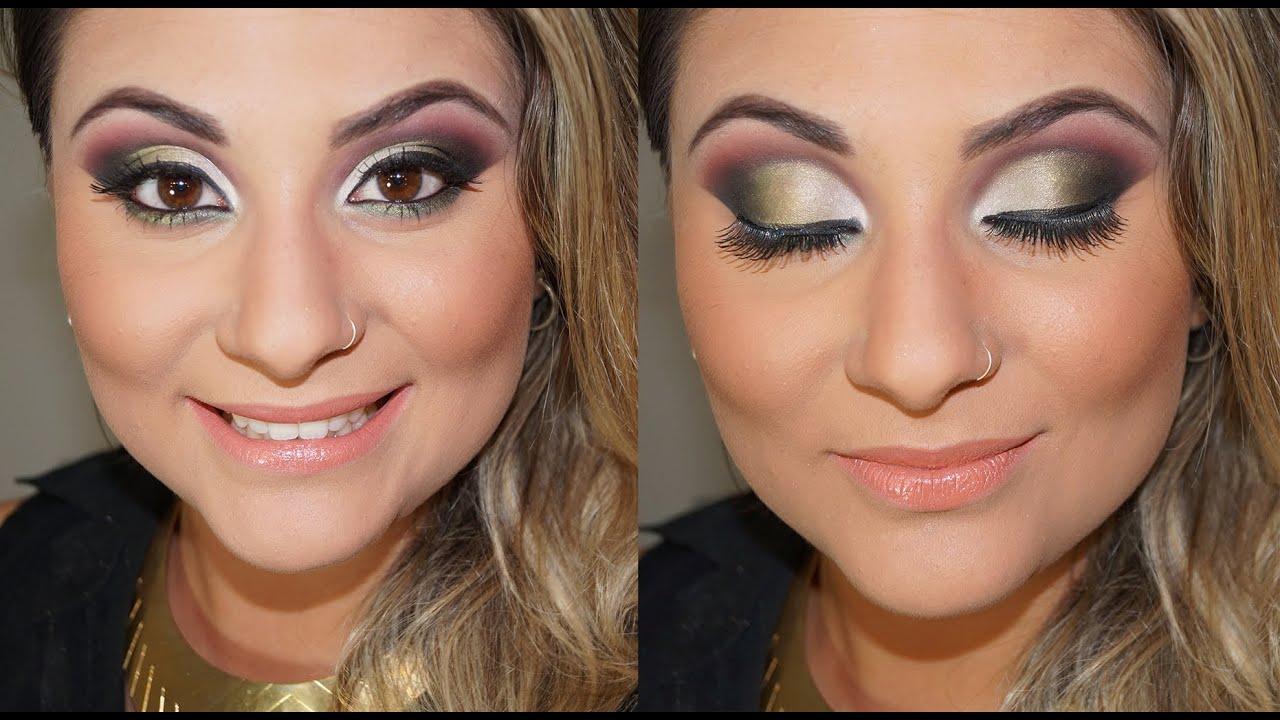 Maquiagem com produtos vult 02 - Por: Gabih Machado - YouTube