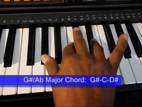 Online Piano Lesson Piano Drills 02 Black Key Major Scales