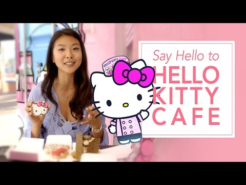 Say Hello To America's First Hello Kitty Café