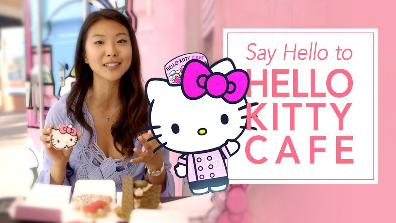 b69e580b8 Say Hello To America's First Hello Kitty Café - YouTube
