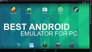 Video The Best Free Android Emulator For PC All Time download MP3, 3GP, MP4, WEBM, AVI, FLV Agustus 2018