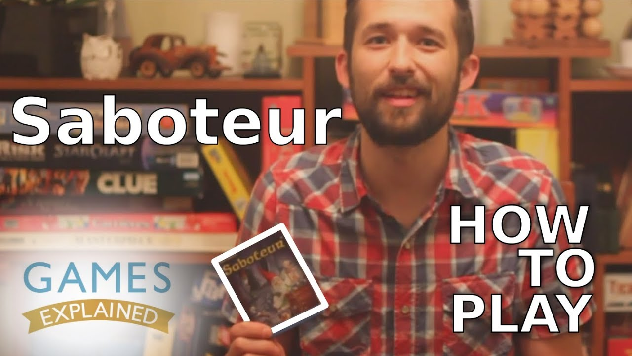 How To Play Saboteur Games Explained Youtube