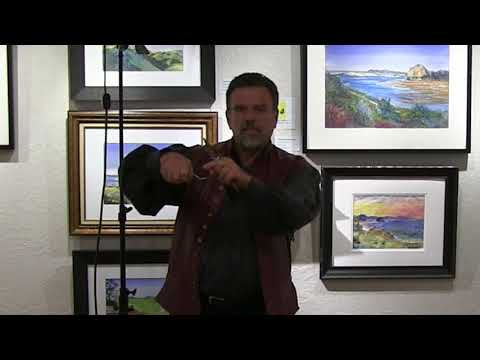 The Fine Art of Painting With Palette Knife with Stefan Baumann