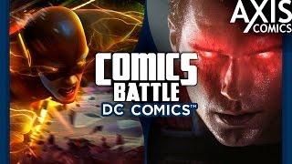 Флэш VS Супермен-Инджастис
