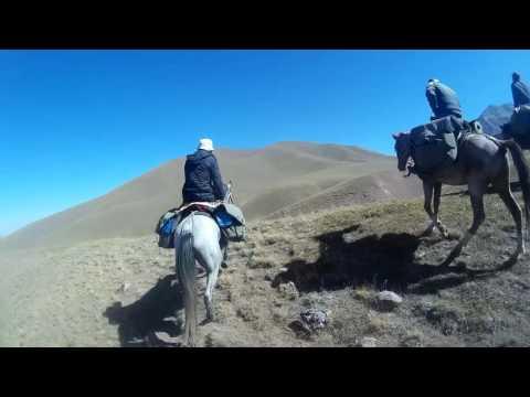 Kyrgyzstan   Horseback travel   Part 1