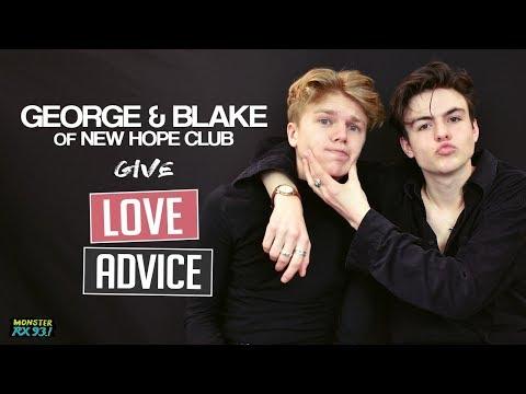 George & Blake Of New Hope Club Give Love Advice