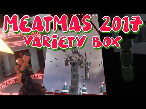 H3VR Meatmas 2017 Variety Box: Opening All EAPA Boxes / Take & Hold / Rotwieners (no commentary)