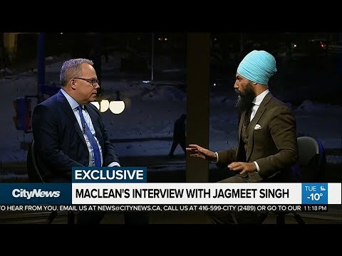 MACLEAN'S EXCLUSIVE: In conversation with Jagmeet Singh