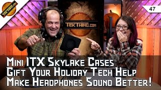 Mini ITX Cases, Black Friday Deals, Headphone Amps, The Gift Of Tech, Pocket Tools, Amazon Hacked?