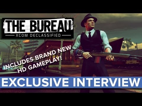 The Bureau: XCOM Declassified - EXCLUSIVE Interview - Eurogamer