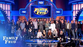 Steve Harvey congratulates the Family Feud staff on the Daytime Emmy Award WIN!! | Family Feud