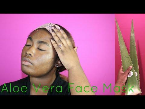 How To: Make A Aloe Vera Face Mask|ArynAlexandria